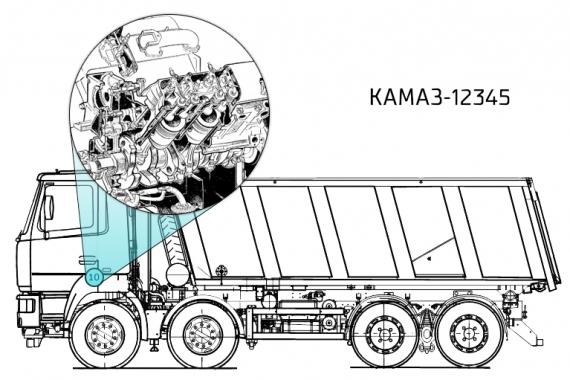 catalogue danh điểm phụ tùng xe KAMAZ