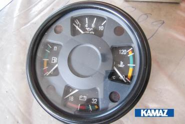 Instrument Cluster (Lubrication Pressure, Cooling Liquid Temperature, Battery Voltage, Fual Level)
