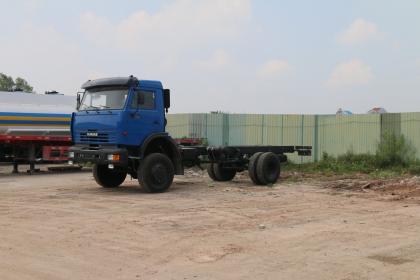 XE CƠ SỞ KAMAZ 43265 (4x4)